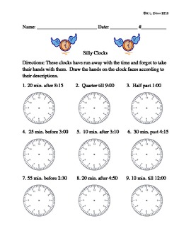 Silly Clocks