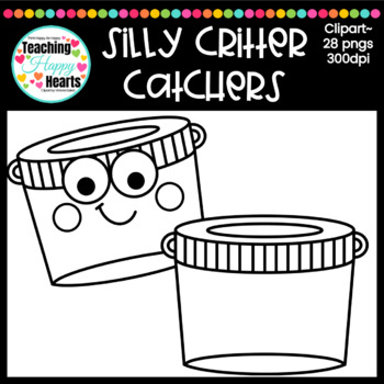 Silly Critter Catchers Clipart