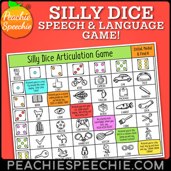 Silly Dice Game for Speech & Language Therapy