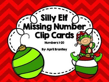 Silly Elf Missing Numbers 1-20