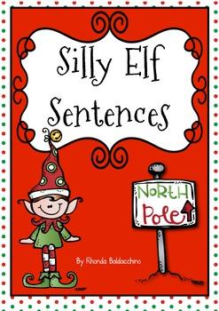 Silly Elf Sentences {Freebie}