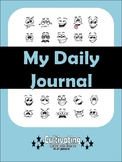 Silly Face Journal Template