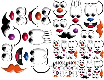 Silly Faces Printable