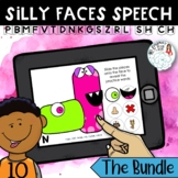 Silly Faces Speech: Articulation Boom Card Distance Learni