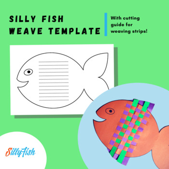 Silly Fish Weave Template