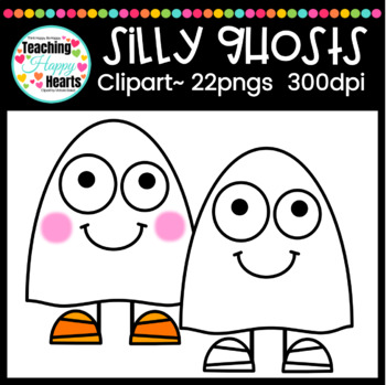 Silly Ghosts Clipart