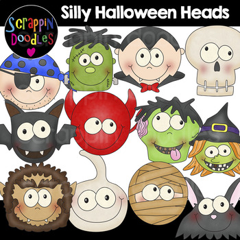 Silly Halloween Heads