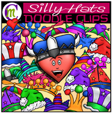 Silly Hats Clipart
