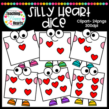Silly Heart Dice