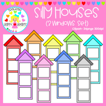 Silly Houses {3 Windows Set}