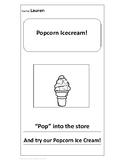 Silly Ice Cream Flavor Flier Template - Freebie!