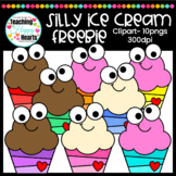 Silly Ice Cream Free Clipart