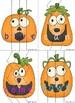 Silly Jack-O-Lanterns Literacy Center Game (Pre-Primer)