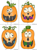 Silly Jack-O-Lanterns Literacy Center Game (Primer)