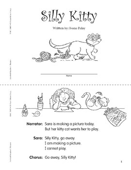 Silly Kitty (Leveled Readers' Theater, Grade 1)