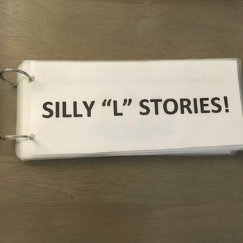"Silly ""L"" Stories (Articulation Activity)"