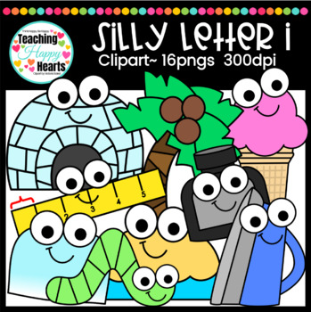 Silly Letter i Clipart