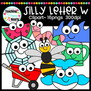 Silly Letter w Clipart