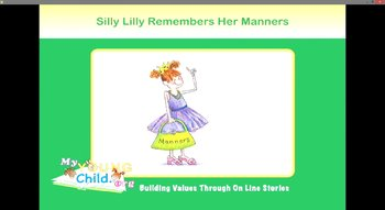 Silly Lilly Remembers Her Manners