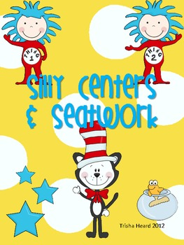 Silly Literacy & Math Centers & Seatwork