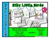 Silly Little Birds Mini Preschool Theme