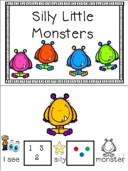 Silly Little Monsters Mini Adapted Books