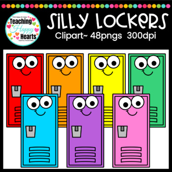 Silly Lockers Clipart