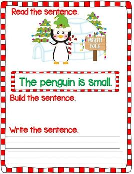 Silly Mixed-Up Penguin Sentences (A Sentence/Writing Unit)