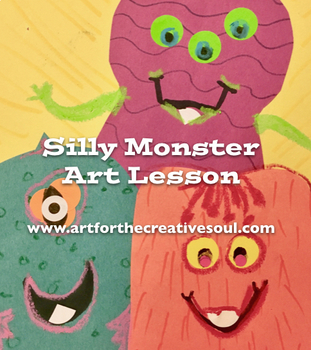Silly Monster Art Lesson