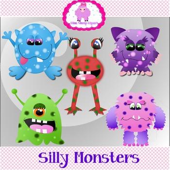 Silly Monster Clip Art
