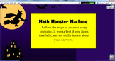 Silly Monster Math Game
