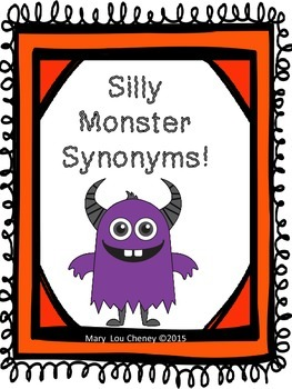 Silly Monster Synonyms!