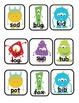 Silly Monster Word Scavenger Hunt: CVC and Long Vowel Words, Common Core