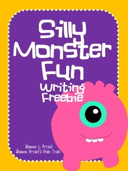 Silly Monsters--A Writing Freebie