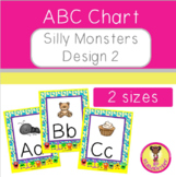 ABC Chart Silly Monsters Design 2