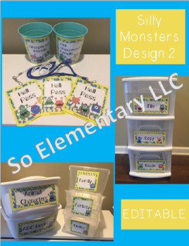 Silly Monsters Classroom Decor Design 2