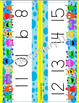Silly Monsters Number Line Classroom Decor Design 1