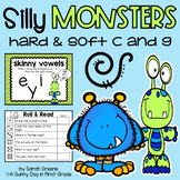 Silly Monsters {hard & soft sounds of c and g!}