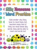 Silly Nonsense Word Practice