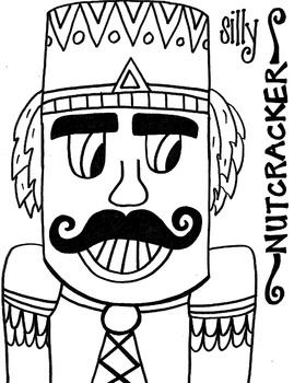 Silly Nutcracker Coloring Sheet