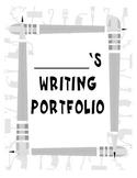 Silly Pencil Theme Writing Portfolio Cover