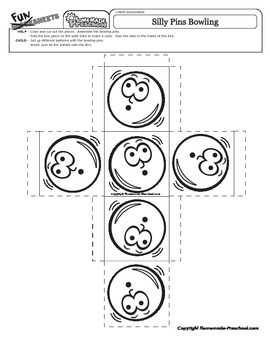 Silly Pins Patterns Bowling Game