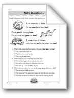 Silly Questions (Singular/Plural Nouns)