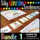 Silly Rainbow Sentences Mega Bundle