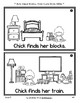 Silly Reader Booklet: Chick's Toys