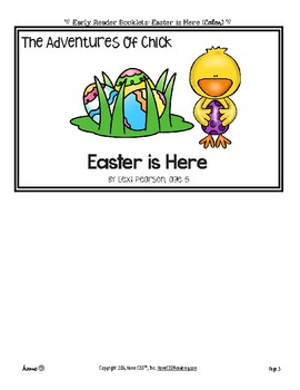 Silly Reader Booklet: Easter is Here (Chick Series)