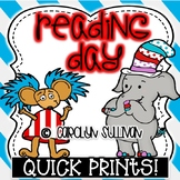 Silly Reading Day Quick Prints