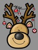 Silly Reindeer Clip Art - Whimsy Workshop Teaching