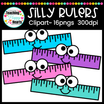 Silly Rulers Clipart