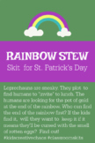 Silly Saint Patrick's Day Skit for ECE  - St. Patricks Day